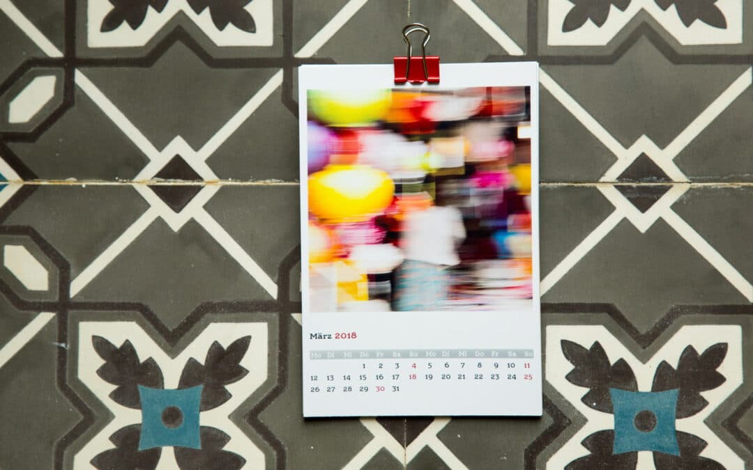 #31 — Kalender: Farben Vietnams