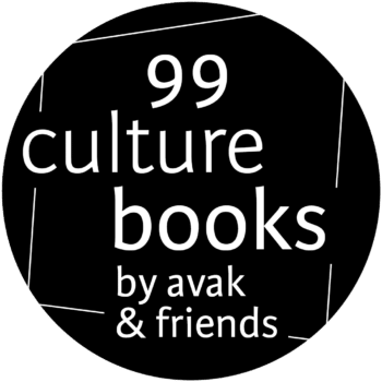 Logo: 99 Cultur books by avak & friends