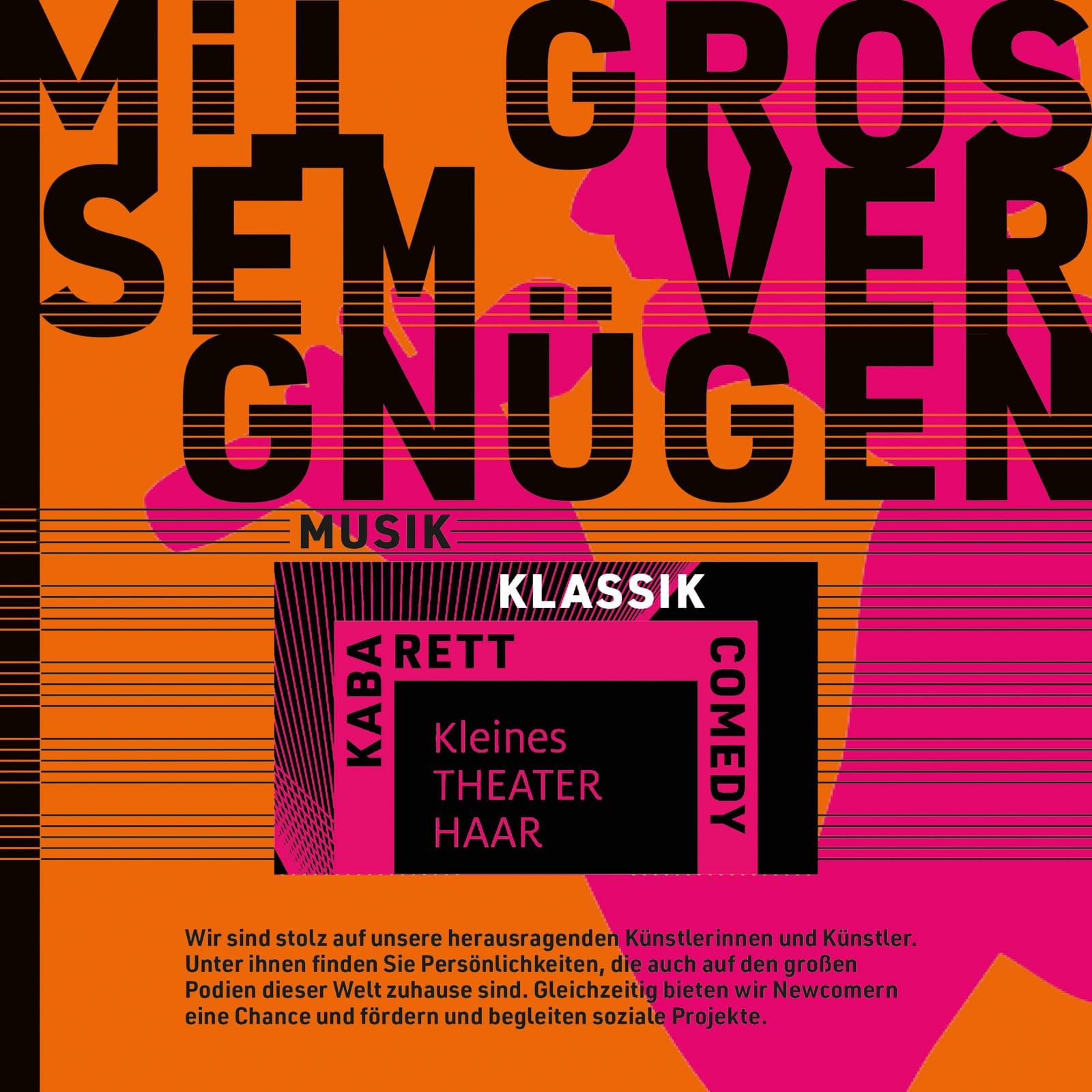 99 Culture Books: Kleines Theater Haar, Plakat 2