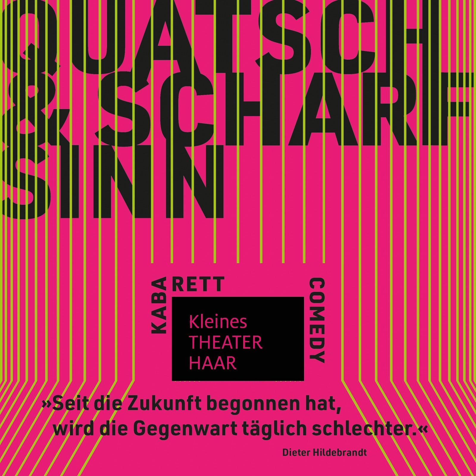 99 Culture Books: Kleines Theater Haar, Plakat 4