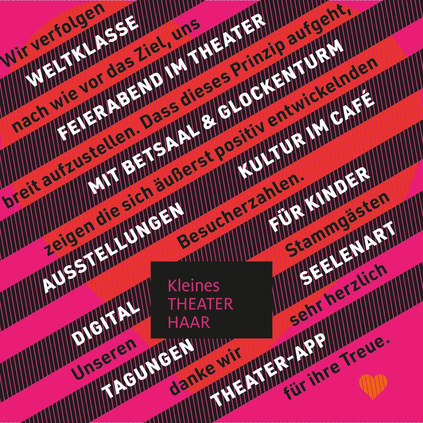 99 Culture Books: Kleines Theater Haar, Plakat 5