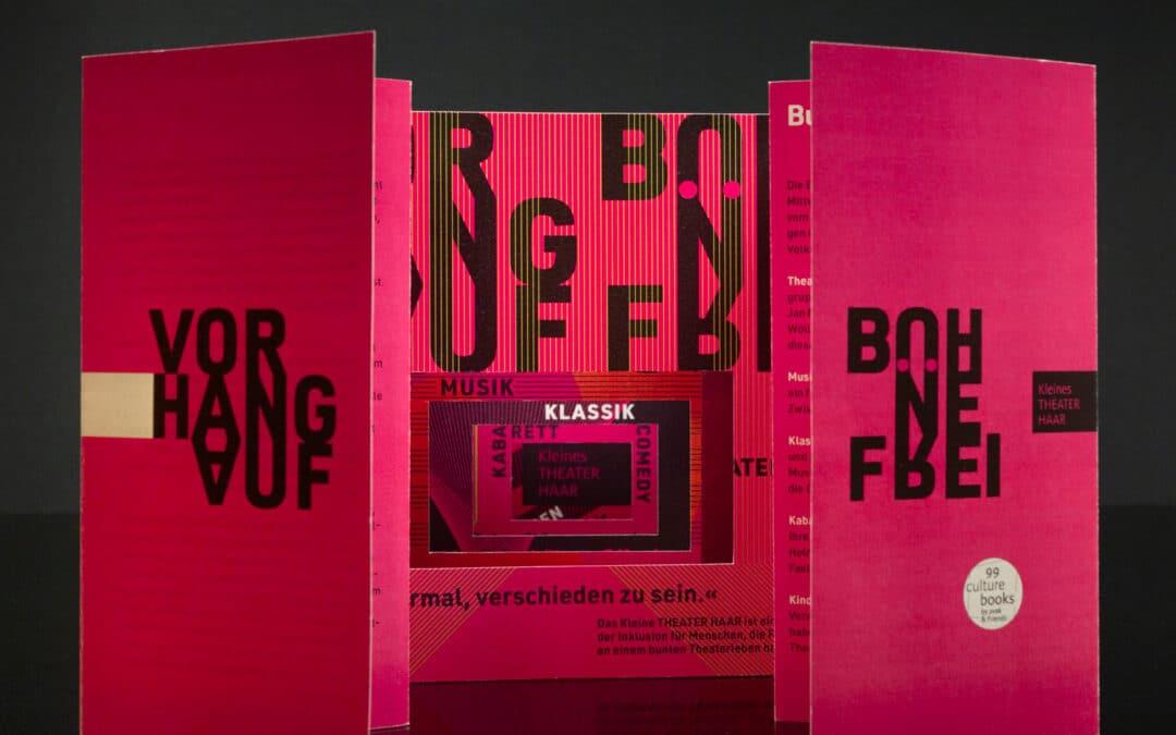 Kultur im Doppelpack: ein Culture Book für das Kleine Theater Haar