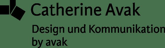 Logo Catherine Avak: Design und Kommunikation by avak